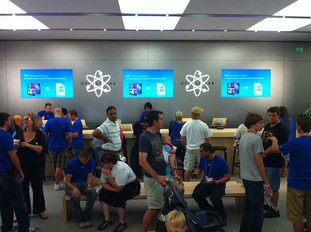 place reservation apple store genius bar appointment dallas sure, will keep
